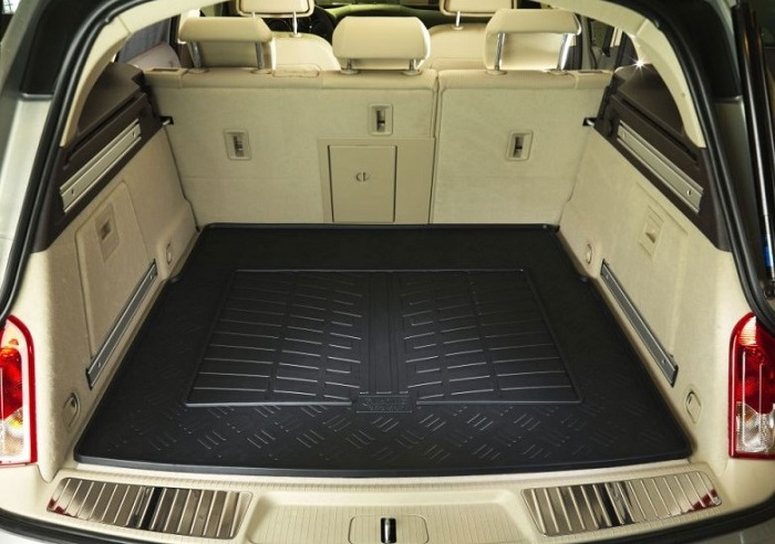 Car rubber trunk mat
